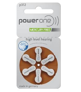 Abbildung von Hörgeräte Batterie Power One p 10 312