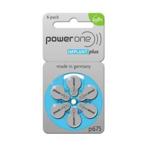Abbildung von Batterie Power One Implant Plus p-675