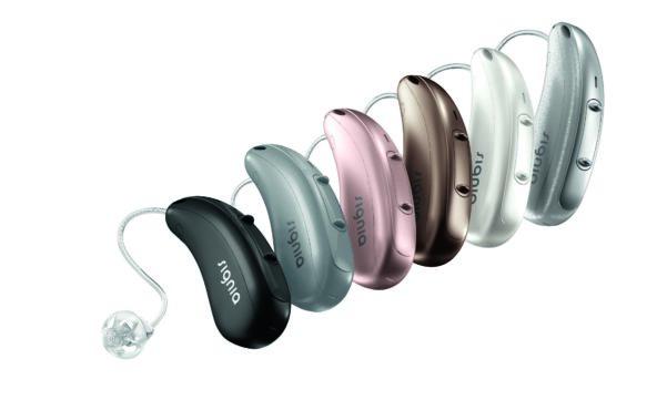 Abbildung von Signia Pure Chargeand Go 7X Hörgerät alle Farben